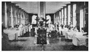 1900年当時のナイチンゲール病棟