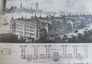 3.ナイチンゲール病棟の設計図(1871年)