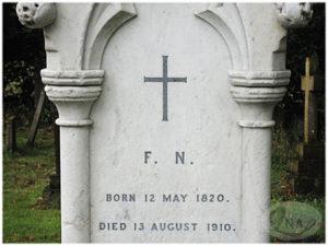 6.ナイチンゲールの墓碑